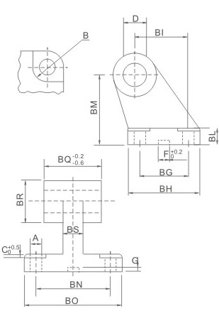 overall dimensions SDB TYPE